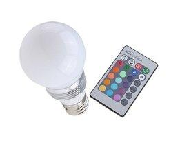 LED lamp kleur met afstandsbediening
