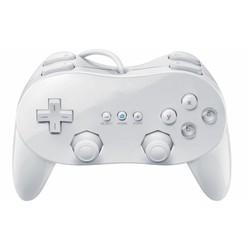 Controller Joystick Classic Wit voor de Nintendo Wii Pro