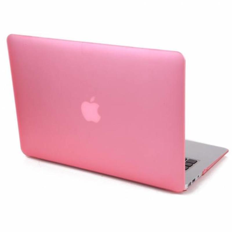 Hardshell Cover SmartShell Mat Roze voor de MacBook Air 13 inch