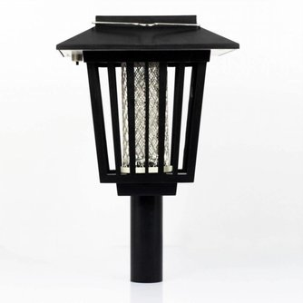 Muggenlamp op Zonne energie