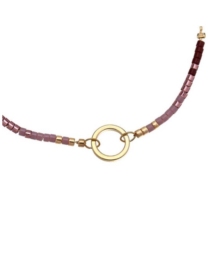 Beads ring goud
