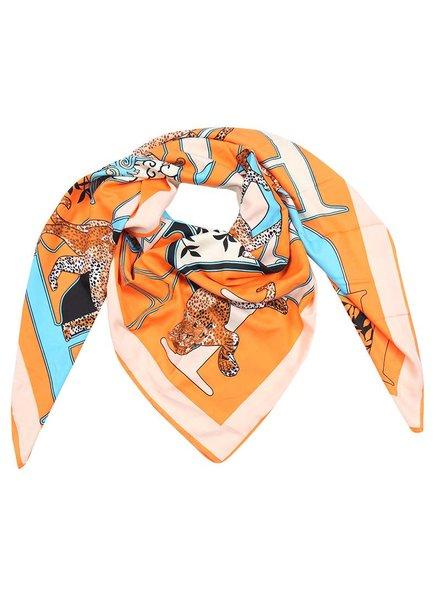 Kisamova Panter printed scarf