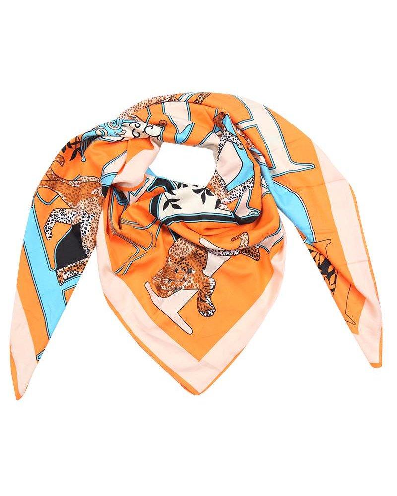 Panter printed scarf