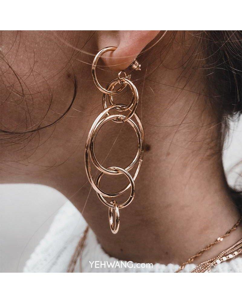 Earrings Circles Of Life