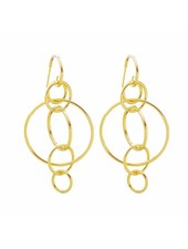 Kisamova Earrings Circles Of Life
