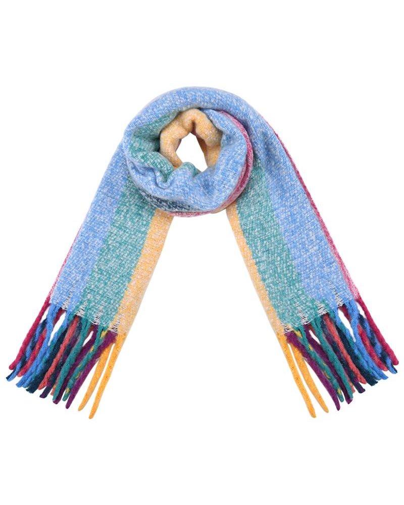 Rainbow sjaal