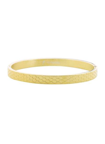 Kisamova Snake medium goud