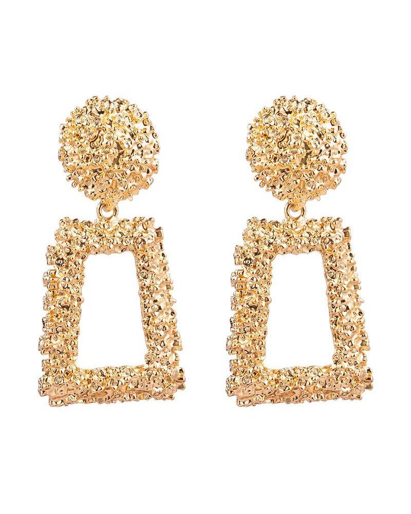 Kisamova Earrings textured glam gold
