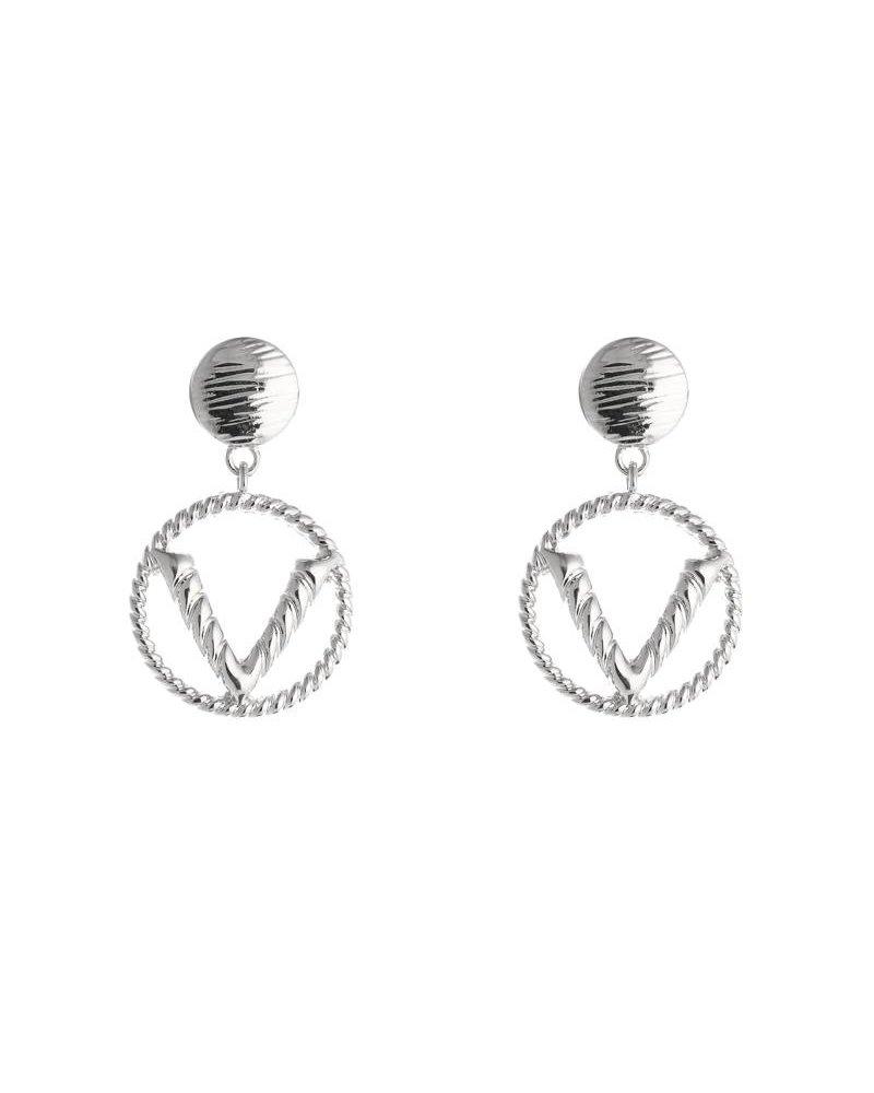 Kisamova Earring V zilver