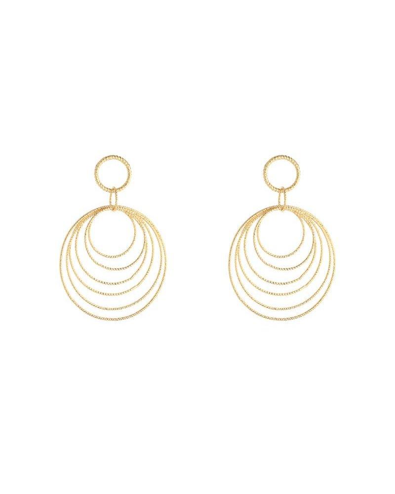 Kisamova Earrings circles gold