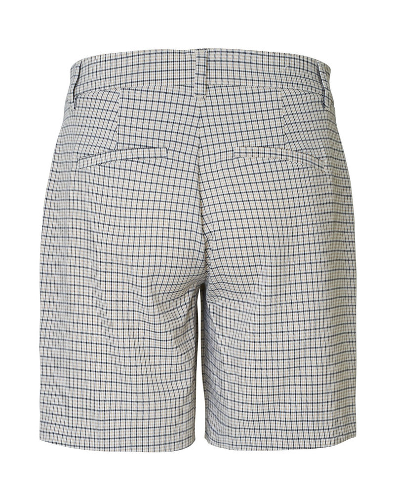 2nd-one Carine 471 Spring Check Shorts