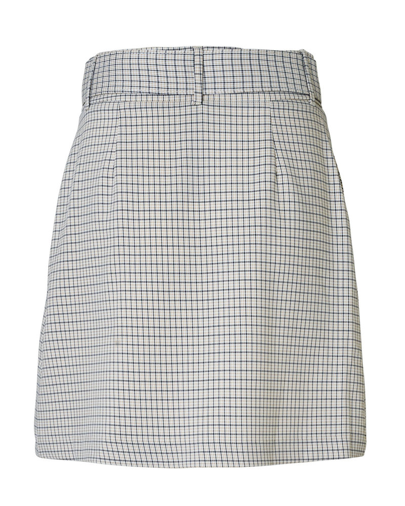 2nd-one Kaia 471 Belted Spring Check Skirt