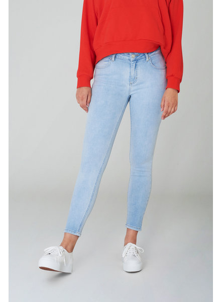 2nd-one Nicole 893 Crop Air Blue Flex Jeans