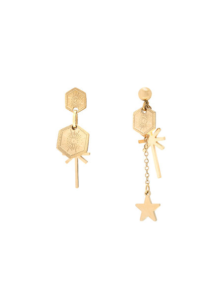 Kisamova Earrings Let's Party