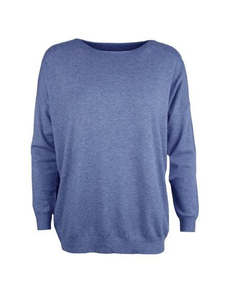 Kisamova Courtney trui jeansblauw