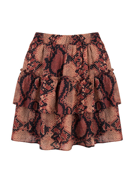 JACKY LUXURY Skirt Snake Print