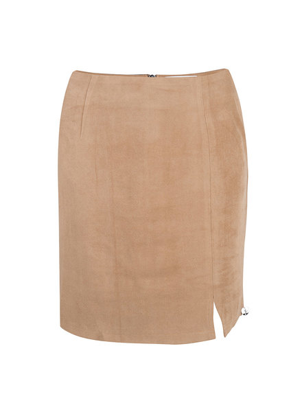 JACKY LUXURY Suede Skirt