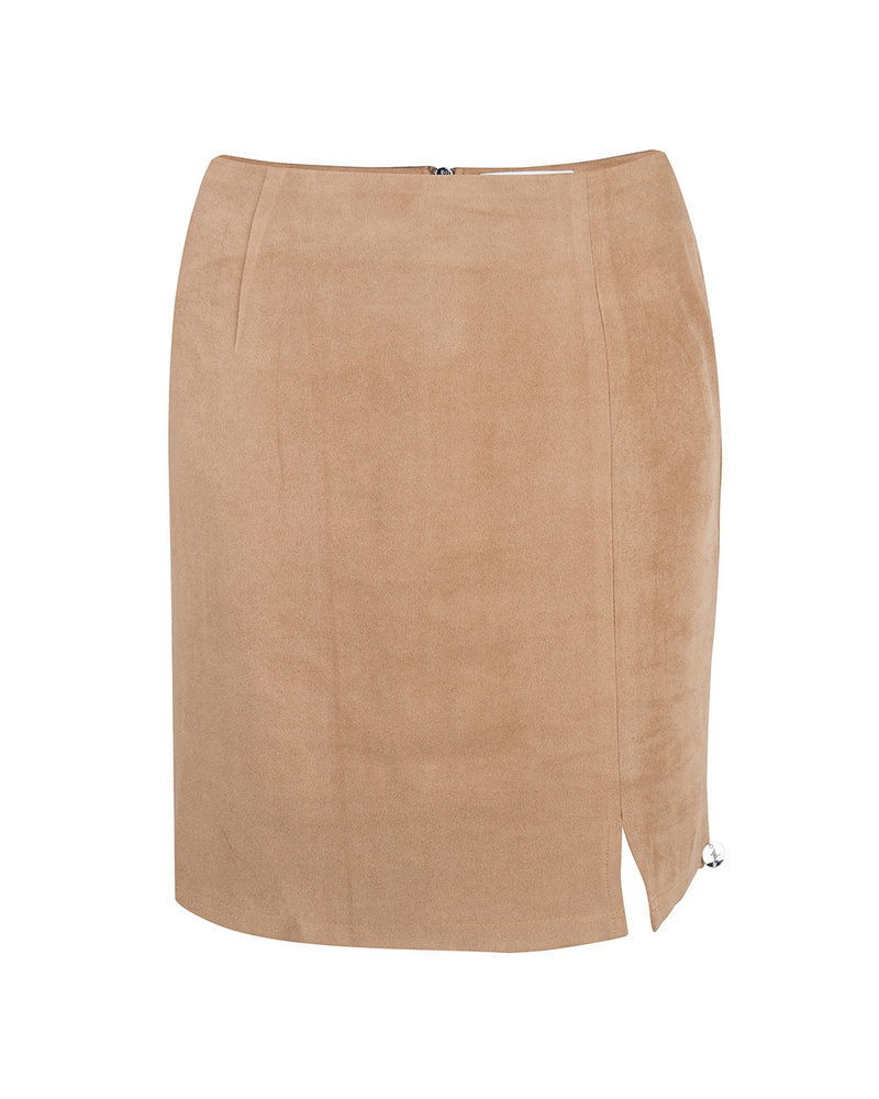JACKY LUXURY Suede Skirt