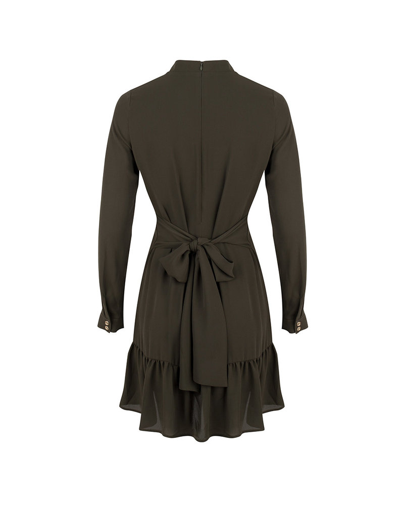 JACKY LUXURY Dress Bow At Waist