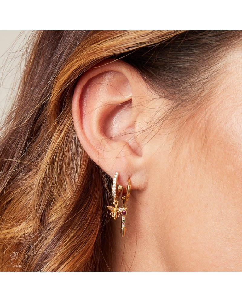 Kisamova Earrings Wealthy Wasp Colour