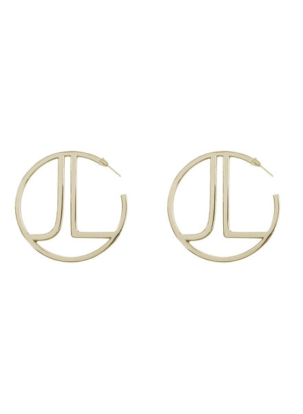 JACKY LUXURY Gold Hoops