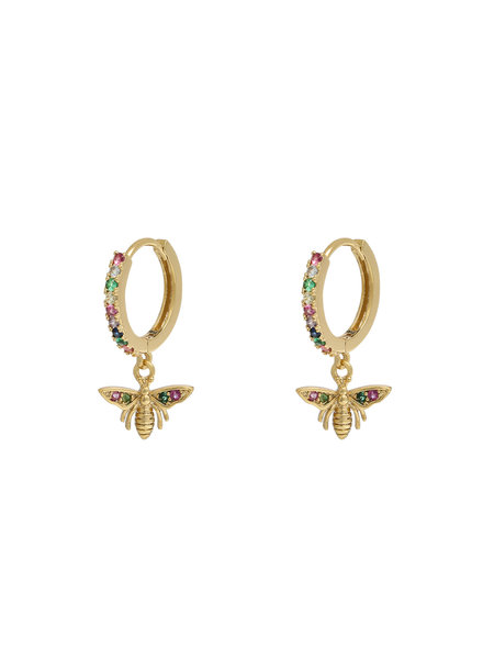 Kisamova Earrings Wealthy Wasp Colour
