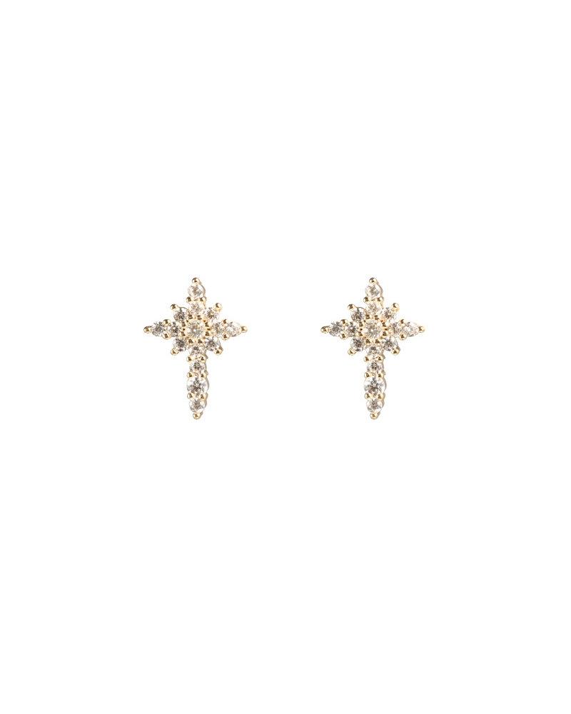 Kisamova Earrings Shimmer Glam Gold