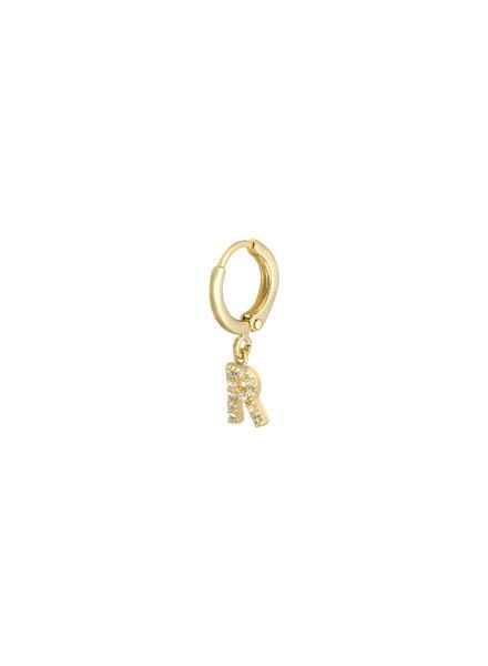 Kisamova Initial Earring R
