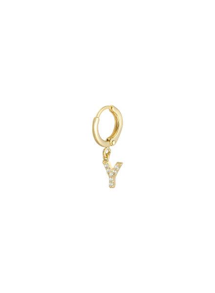 Kisamova Initial Earring Y