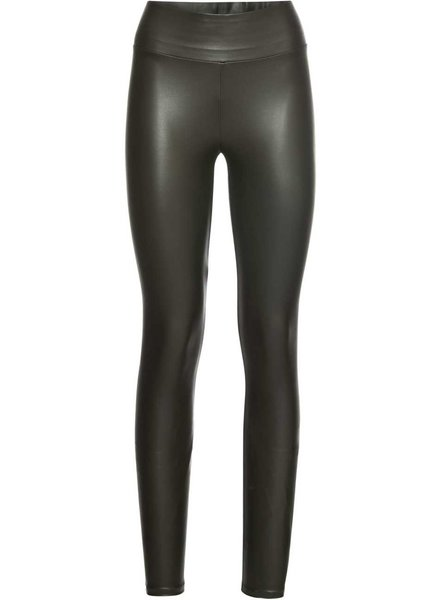 Kisamova Leather Look Legging Khaki