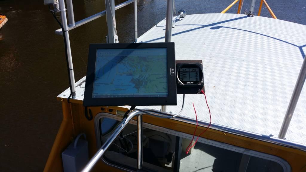 IP65 touch populair bij watersporters