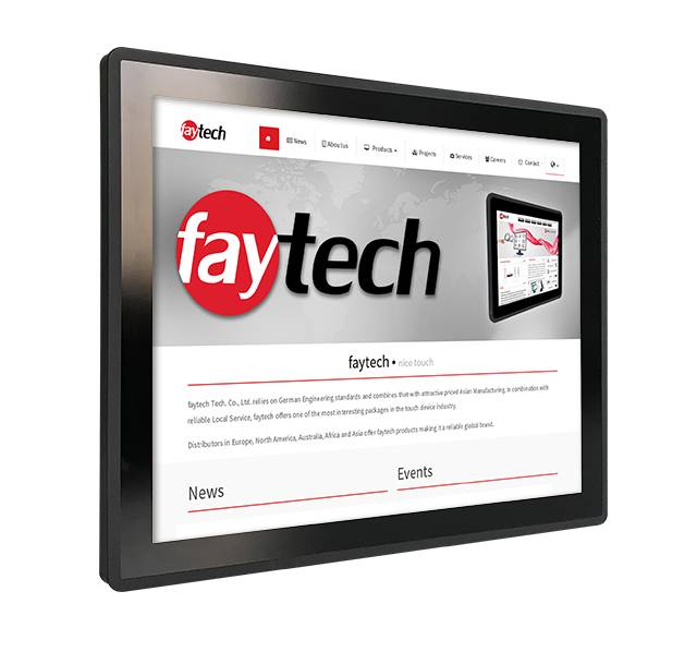 19 inch embedded touch computer