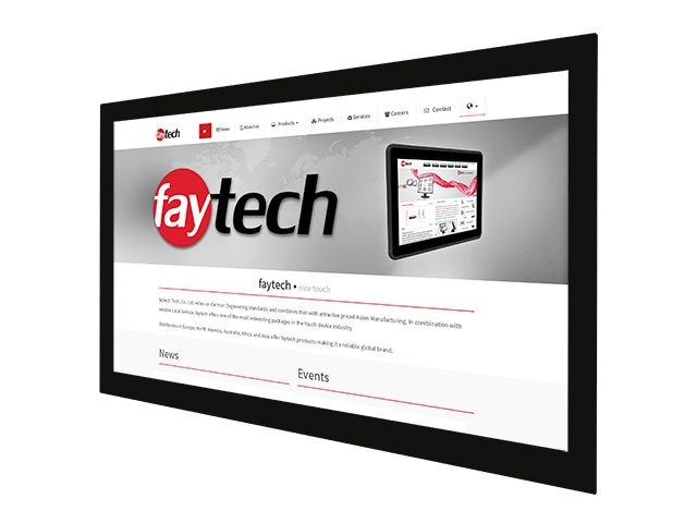 43 inch open frame capacitive touch monitor