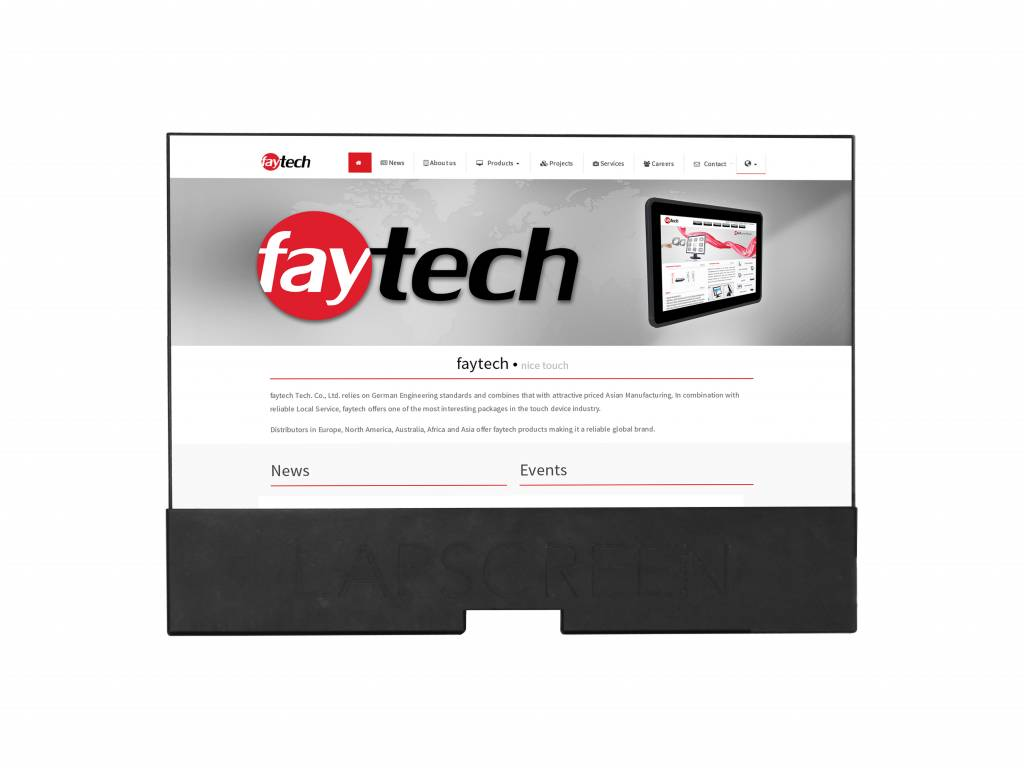 12,5 inch Lapscreen monitor