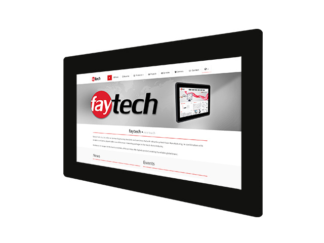 11,6 inch open frame capacitive touch monitor | faytech Nederland