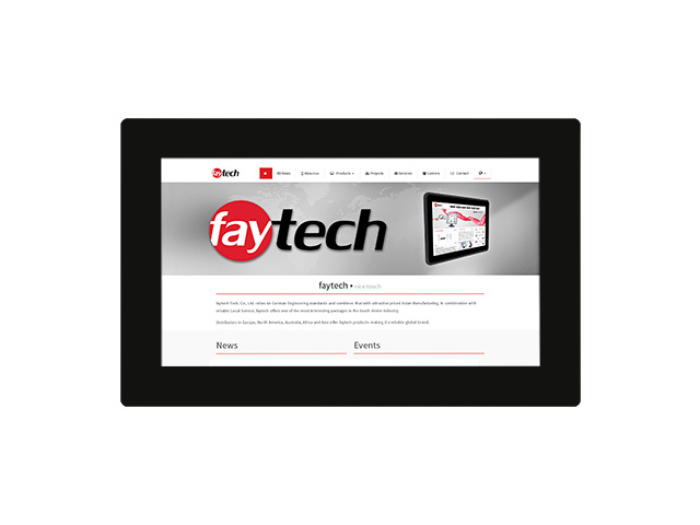 "11,6 "" open frame capacitive touch monitor 