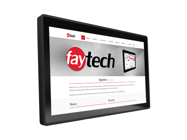 21,5 inch Capacitive touch computer N4200 | faytech Nederland FT215N4200CAPOB