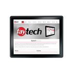 faytech 15 inch capacitive touch pc i5-7300U