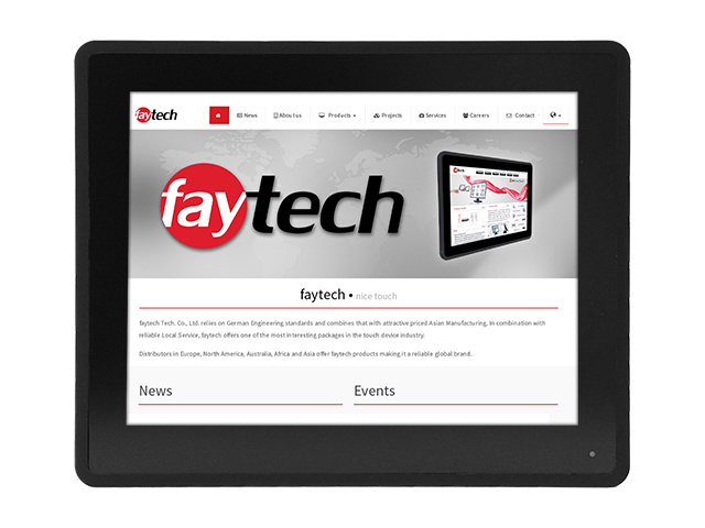 faytech 12,1 capacitive touch pc