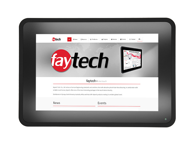"10"" Capacitive Touch PC FT10I5CAPOB | faytech Nederland   - Copy"