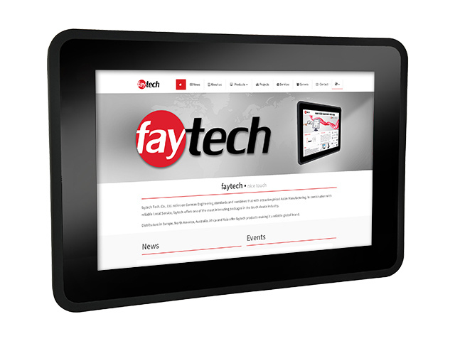 """10,1"""" Capacitive Touch PC FT10I5CAPOB   faytech Nederland"""