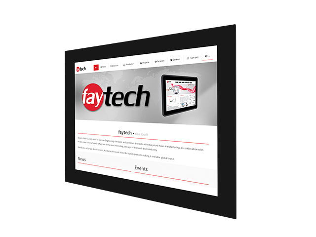 15 inch open frame capacitive touch monitor | faytech Nederland