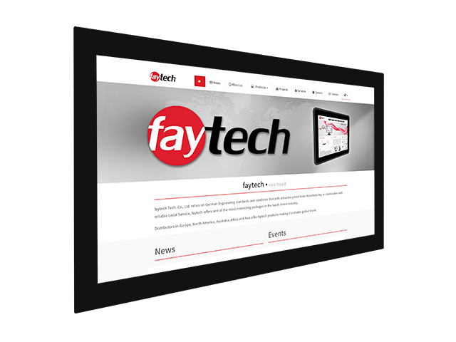 21,5 inch open frame capacitive touch monitor | faytech Nederland