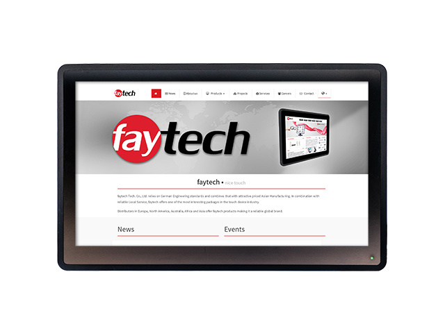 faytech 13,3 capacitive touch pc FT133I5CAPOB | faytech Nederland