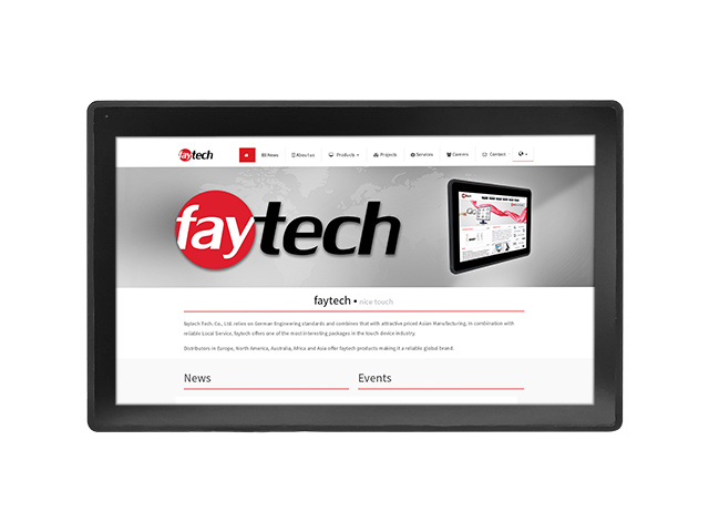 13,3 inch Capacitive touch computer | faytech Nederland FT133N4200CAPOB