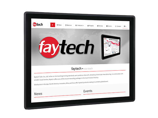 17 inch capacitive touch computer | faytech Nederland