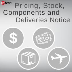 Prijzen, voorraad, componenten en levering