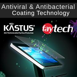 Antivirale & antibacteriële coating door samenwerking met Kastus