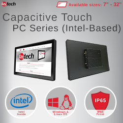 faytech's capacitieve touch pc's (Intel-based)