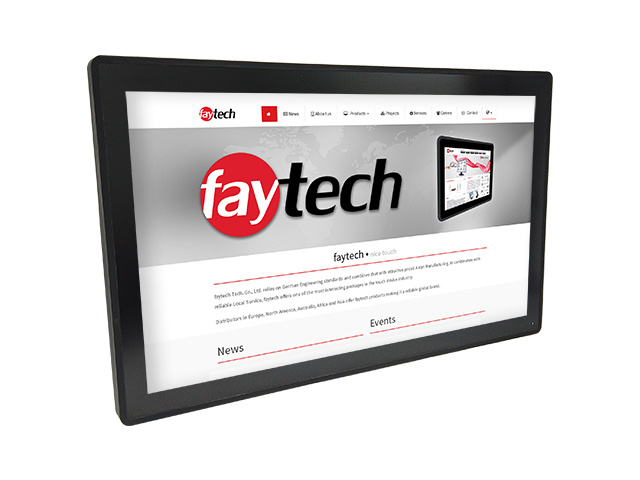 27 inch Capacitive touch computer N4200   faytech Nederland FT27N4200CAPOB